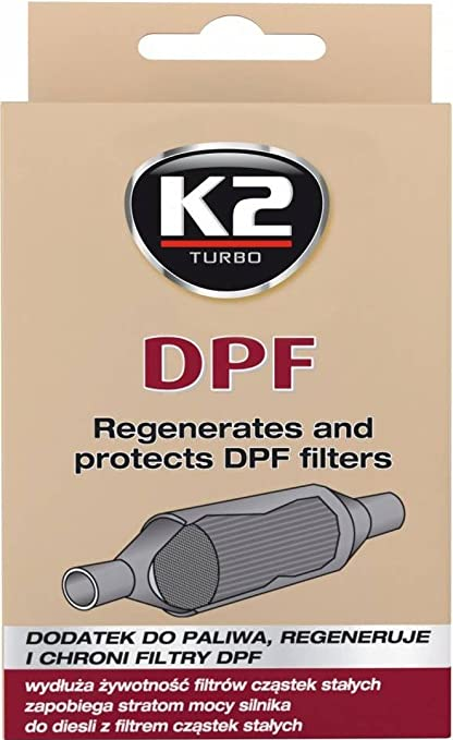 K2 - Aditivo para Motor Diesel para Filtro de partículas Diesel, Limpiador de inyectores,
