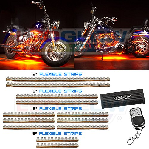LEDGlow Orange Flexible Motorcycle Light product image