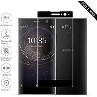 Sony Xperia XA2 Panzerglas, Beyeah Vollständige Abdeckung Schutzfolie aus hochwertigem gehärtetem Glas für Sony Xperia XA2 (Schwarz)