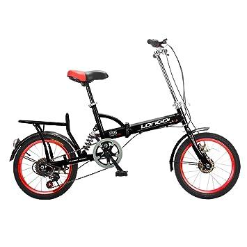 Brothers HouseYX Bicicleta Plegable para Adultos, niños y ...
