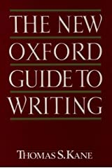 The New Oxford Guide to Writing Paperback