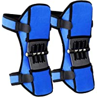 Joint Support Knee Pads [Upgraded], Power Lift Knee Stabilizer Pads, Powerful Rebound Spring Force Knee Protection Booster, Breathable Non-Slip Joint Knee Support Brace for Men Sports, Squat, Blue