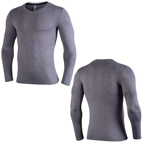 Compression Magliette T Uomo Shirt Da Fitness hrQxtCBsdo