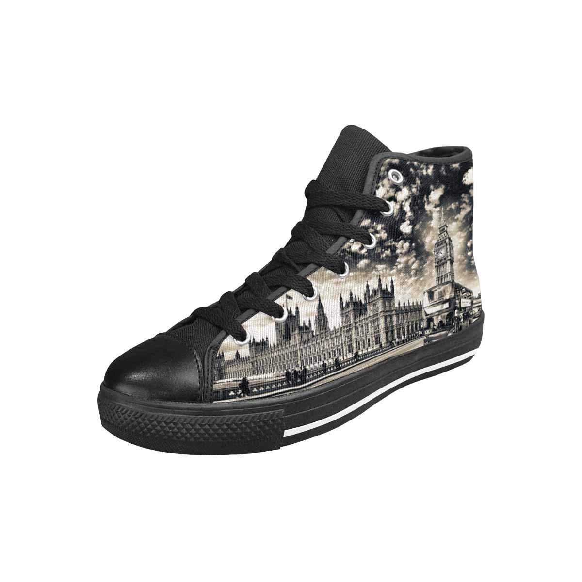 INTERESTPRINT Women's Canvas High Top Sneaker Shoes