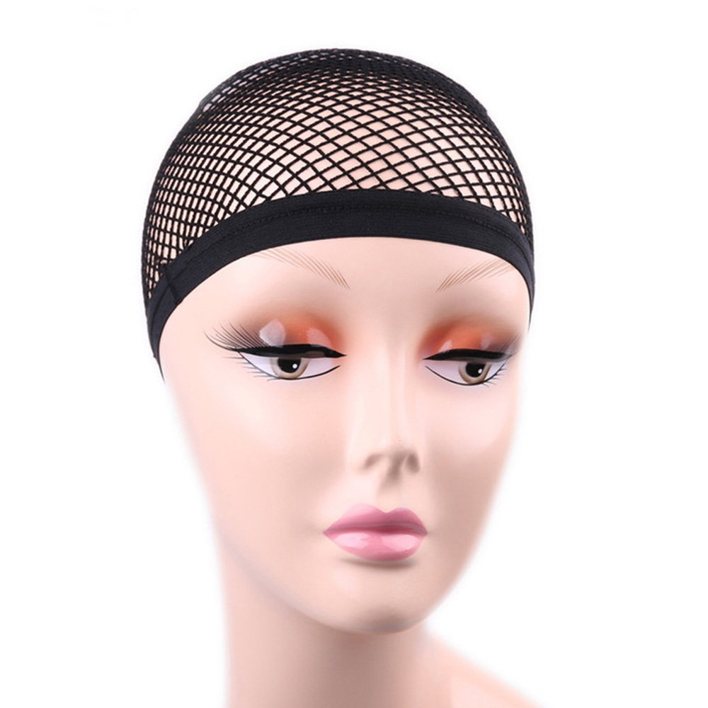 Anself Hair Wig Weaving Net Stretchable Mesh Fishnet Elastic Cap