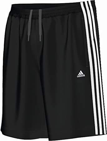 adidas Men's Essentials 3 Stripes Heavy Single Jersey Shorts