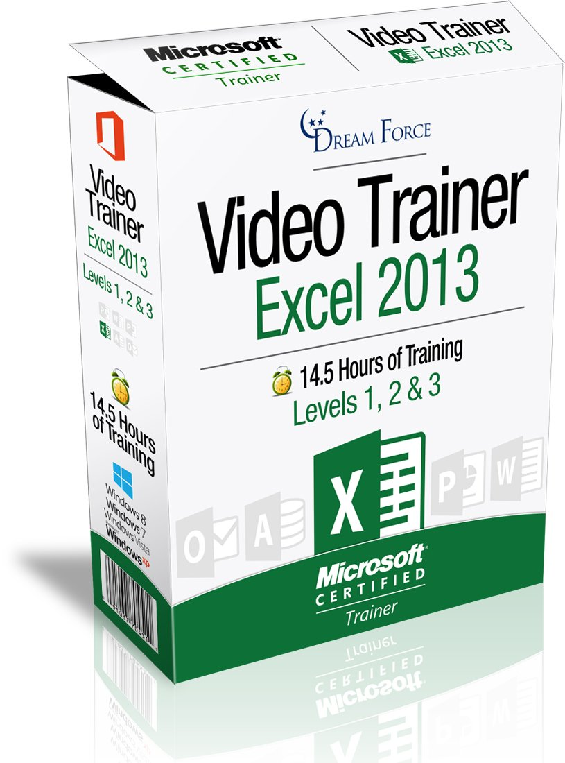 Excel 2013 Training Videos - 14.5 Hours of Excel 2013 training by Microsoft Office: Specialist, Expert and Master, and Microsoft Certified Trainer (MCT), Kirt Kershaw by DreamForce LLC