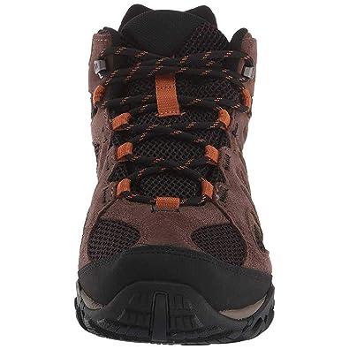 bf41dd0fba381d Merrell Yokota 2 Mid Waterproof J46543 Wanderstiefel Outdoorschuhe Boots  Herren J46543 Black  Amazon.de  Schuhe   Handtaschen