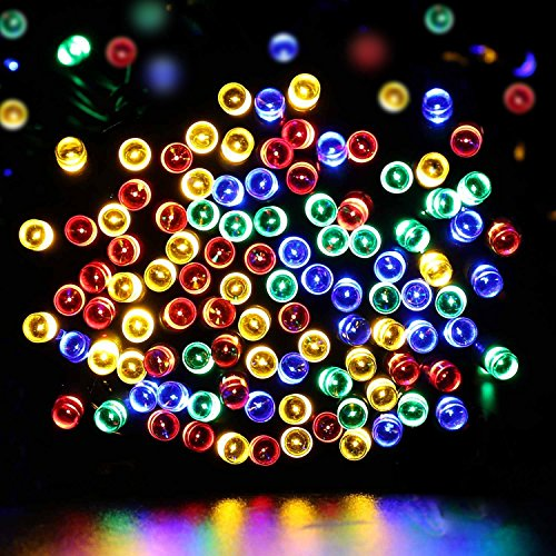 Dephen Coruscation LED Party Decorative String lights with 8 modes,22m 200 LEDs Plug-in Christmas Lights for Wedding Xmas Halloween Diwali Outdoor Indoor Badge(Plug-in colorful)