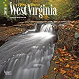 West Virginia, Wild & Scenic 2018 7 x 7 Inch Monthly Mini Wall Calendar, USA United States of America Southeast State Nature