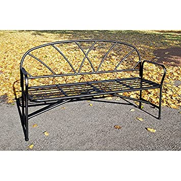 Achla Designs Lattice Garden Bench