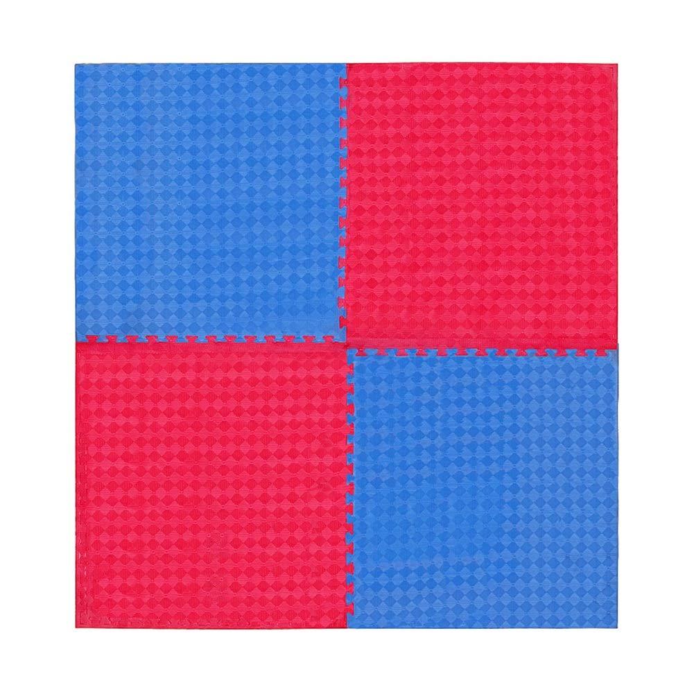B 8pcs GUORRUI-tapis puzzle en mousse Prougeection EnvironneHommestale Danse Taekwondo Tapis Cour De Récréation Plus épais Imperméable évoituret sans Faille, Combinaison Libre (Couleur   A, Taille   4pcs)