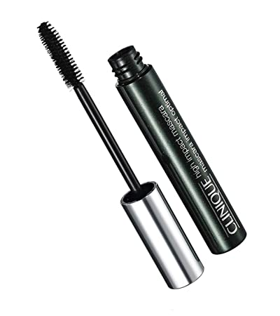 6464da429f5 Amazon.com : Clinique High Impact Mascara 01 Black Full Size 0.28 oz/7 ml  (Unboxed) : Beauty