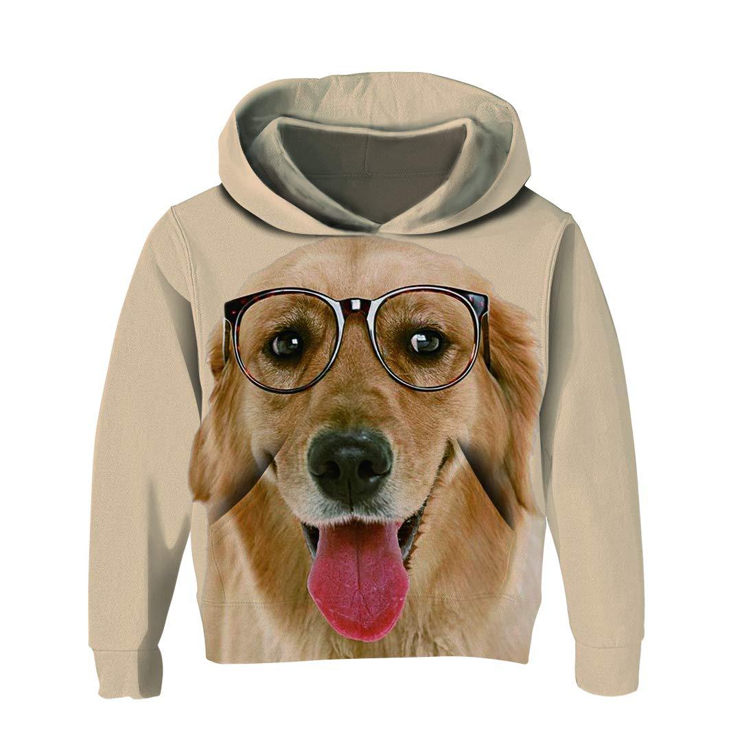 Galaxy 3D Print Kids Boys//Girls Hoodie Sweatshirt Pullover Jumper Coat Xmas 2019