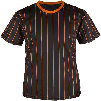 myglory77mall Camiseta de béisbol con Cuello Redondo para Hombre: Amazon.es: Ropa y accesorios