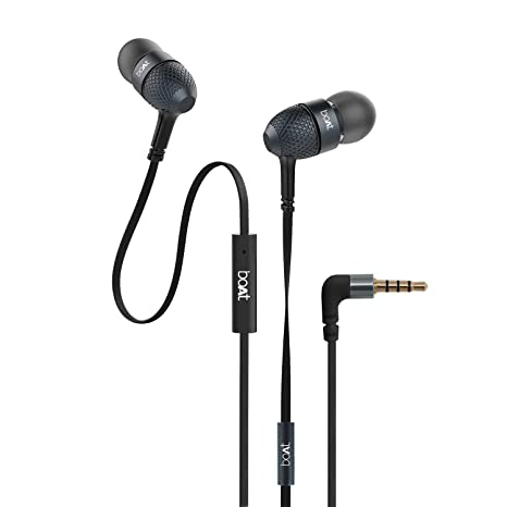 c1f0c5abc01978 boAt BassHeads 225 in-Ear Super Extra Bass Headphones  Amazon.in   Electronics