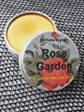 Rose Garden Perfume Solid, Perfume Rub, Perfume Balm, Aromatherapy, Essential Oils, Rose Lover, Floral Scent, Sandalwood, Rose Scent, 1 oz.