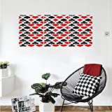 Liguo88 Custom canvas Casino Decorations Collection Card Suits Pattern With Clubs Diamonds Hearts Spades Poker Gamble Theme Bedroom Living Room Wall Hanging