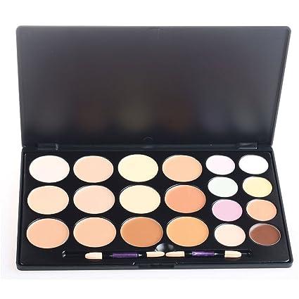 324b97c36b82 PhantomSky 20 Couleurs Palette de Maquillage Correcteur Camouflage Crème  Cosmétique Set Combinaison avec Brosse - Parfait