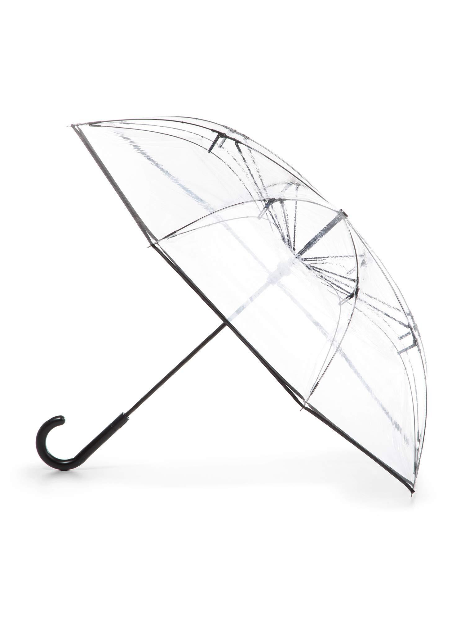 totes InBrella Reverse Close Umbrella, Clear by totes