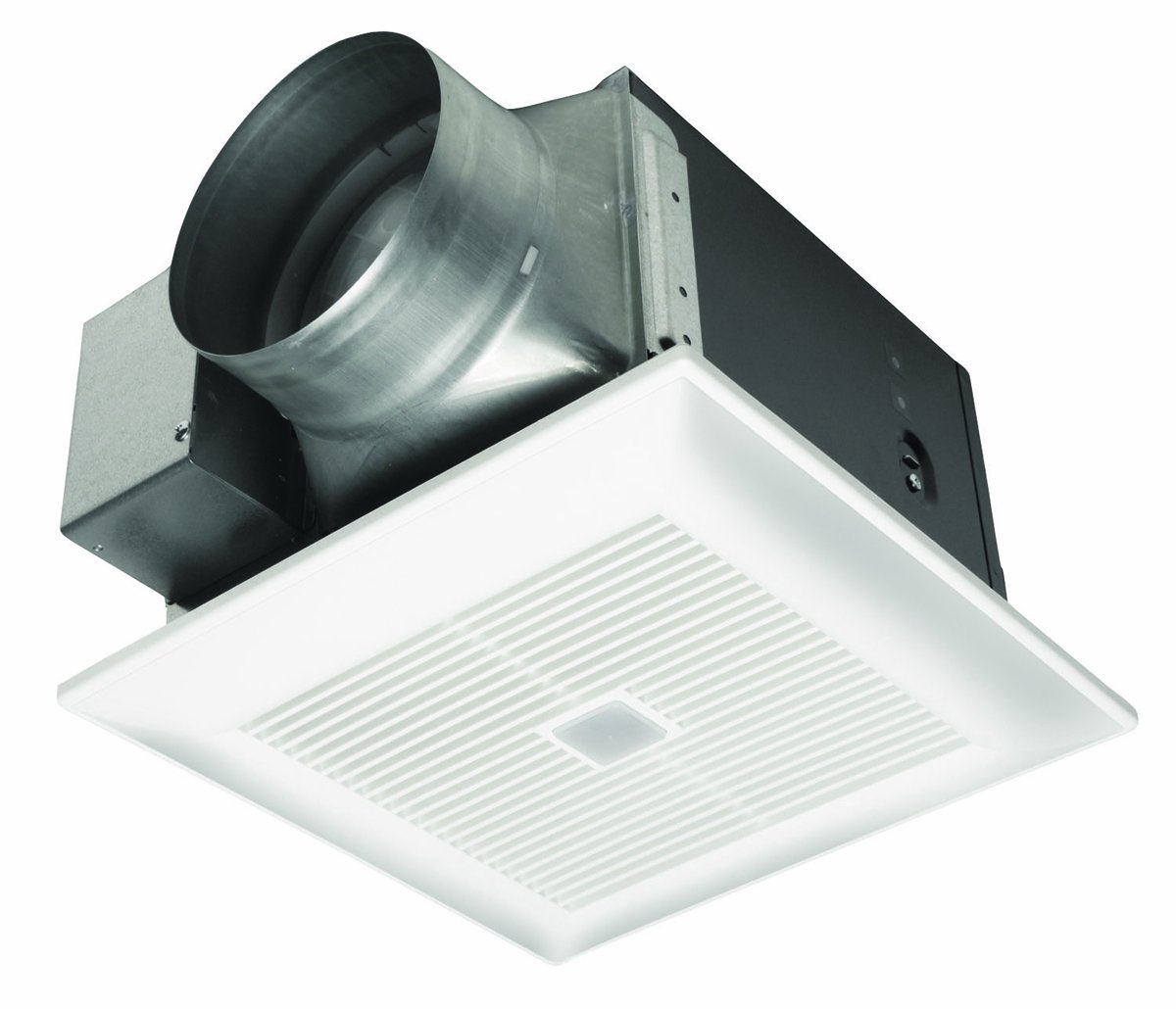 Cook bathroom exhaust fans - Panasonic Fv 13vkm3 Whispergreen 130 Cfm Ceiling Mounted Ventilation Fan With Dc Motor Variable Speed Controls Motion Sensor White Built In Household