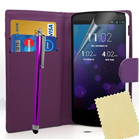 Accessory Master Wallet Case - Funda para LG Nexus 5 ...