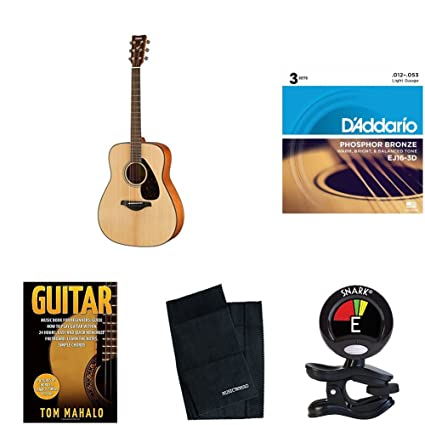 Amazon.com: Yamaha FG800 Solid Top Acoustic Guitar bundle: Musical Instruments