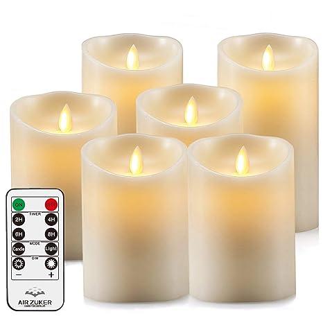 Air Zuker Led Kerzen Flammenlose 300 Stunden Kerzen