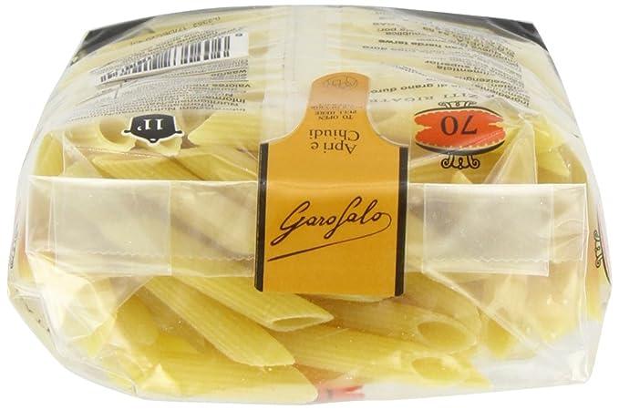 Garofalo - Penne Ziti Rigate - 4 x 500 g: Amazon.es: Alimentación y bebidas