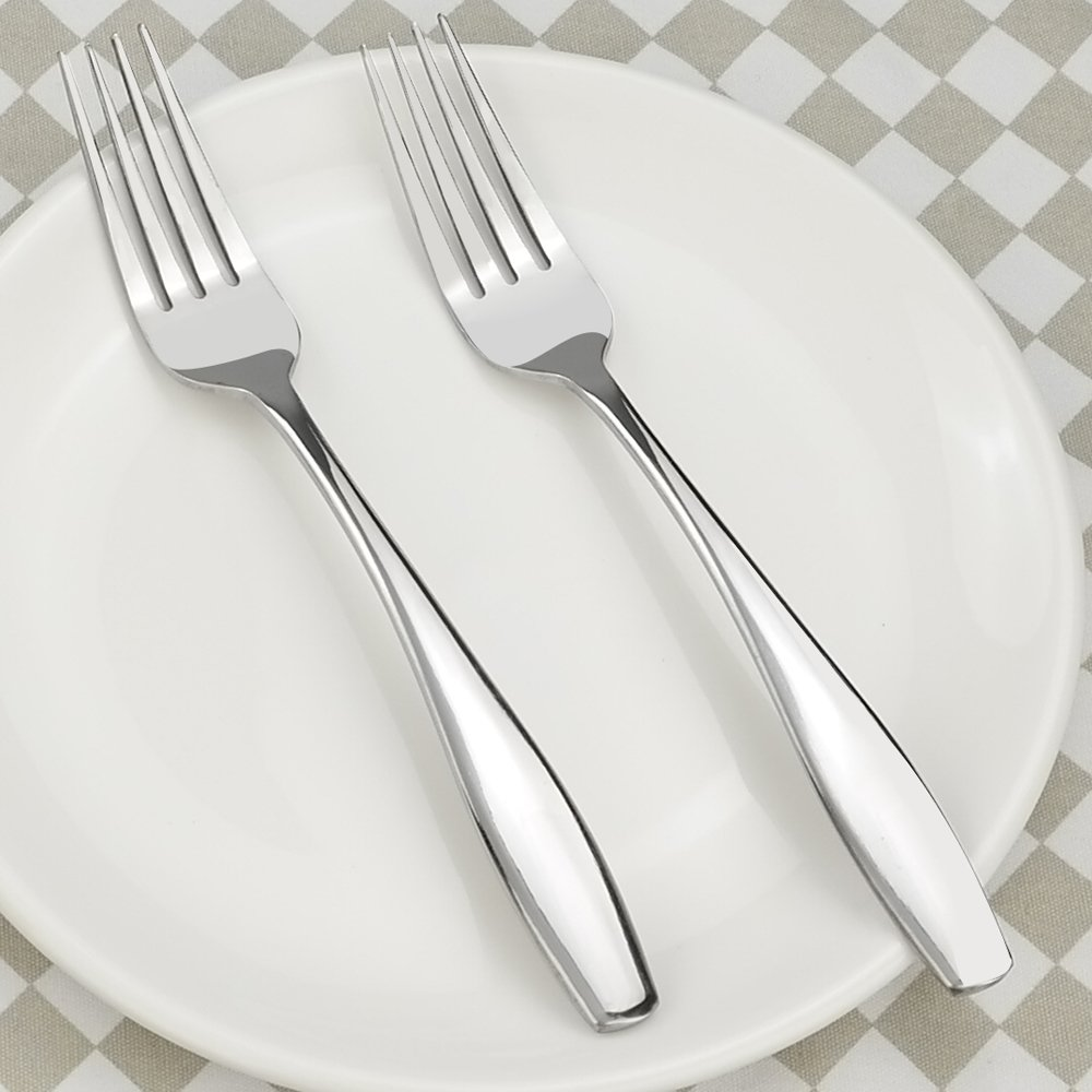 Ggbin Stainless Steel Salad Forks, Dessert Fork, 12 Pieces by Ggbin (Image #5)