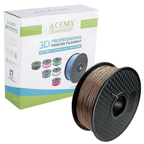 Amazon.com: ACENIX - Filamento de madera PLA 3D para ...