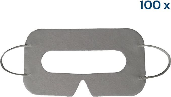 EasyMask – Máscaras VR – 100 unidades de máscaras desechables de ...