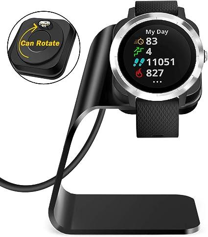Amazon.com: QIBOX Compatible Vivoactive 3 Cargador, Repuesto ...