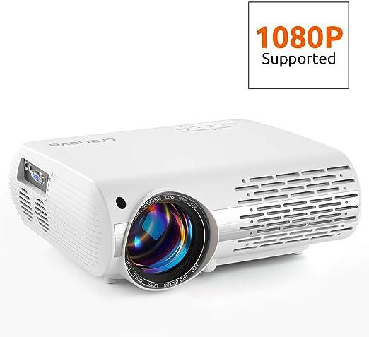 AI LIFE Video proyector Proyector de Cine en casa 16000 Lux ...