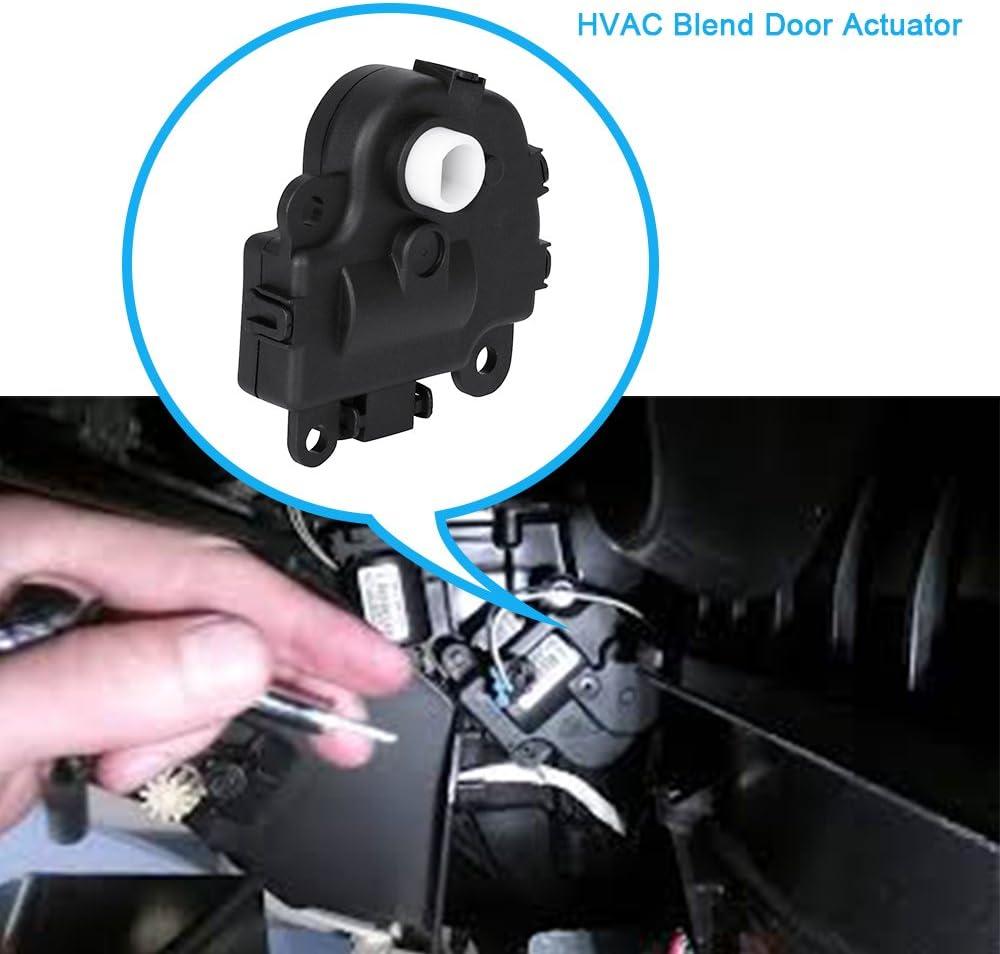 Air Door Actuator 604108 HVAC Heater Blend Door Actuator for 2004-2013 Chevrolet Impala Buick Pontiac
