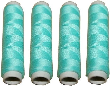 1000 Nähmaschinen Nähgarn 200 m 4 Rollen je 50 m Polyester 40//2 weiß
