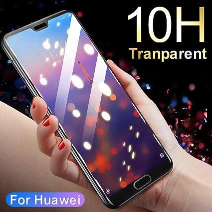 STCMW [3 Piezas] Vidrio Templado para Huawei P20 Mate 20 Lite Pro ...