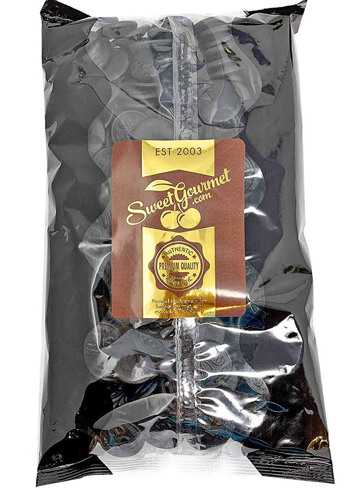 Gustaf's Premium Dutch Licorice | Salted Licorice Coins | Bulk Candy | 2.2 pounds (1kg)