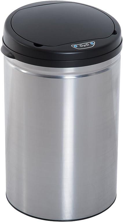 Cubo de Basura con Sensor Cubo autom/ático 50L Cubo de Cocina autom/ático Papelera con Sensor
