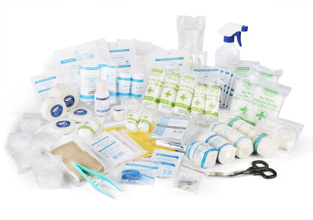 CUT-EEZE CM0065 Sports Kit In Large Bag, Click Medical Advanced Team Beeswift ltd