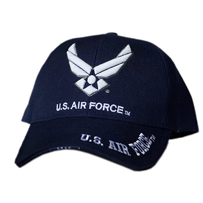 US HONOR TM 3D Embroidered Air Force Wing Logo Baseball Caps Hats at ... 7af2c1fe0f3
