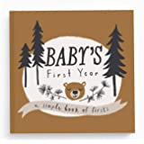 Baby Journal and Photo Album - Baby Books First Year Memory Book - Baby Memory Book of Firsts - Little Camper Memory Book