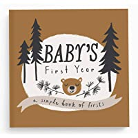 Baby Memory Book Baby Journal and Photo Album Baby Books First Year Memory Book Baby Memory book of Firsts Little Camper…