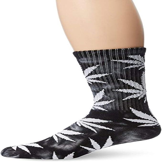 HUF Mens Strain Plantlife Crew Socks