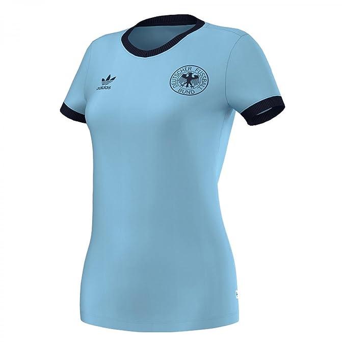 adidas Originals - Camiseta - para mujer Azul Argentina 44 : Amazon.es: Ropa y accesorios