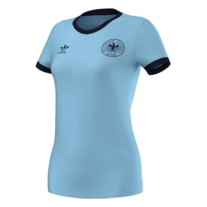 adidas Originals - Camiseta - para mujer Azul Argentina 44