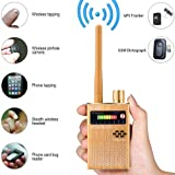 RF Detector,High Sensitive Wide Range Radio Frequency Sweeper,Find GSM Listening Device G319A Gold