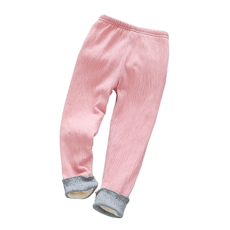 1- 5ans Bebe Fille Pantalon Chaud Collant Legging HIver