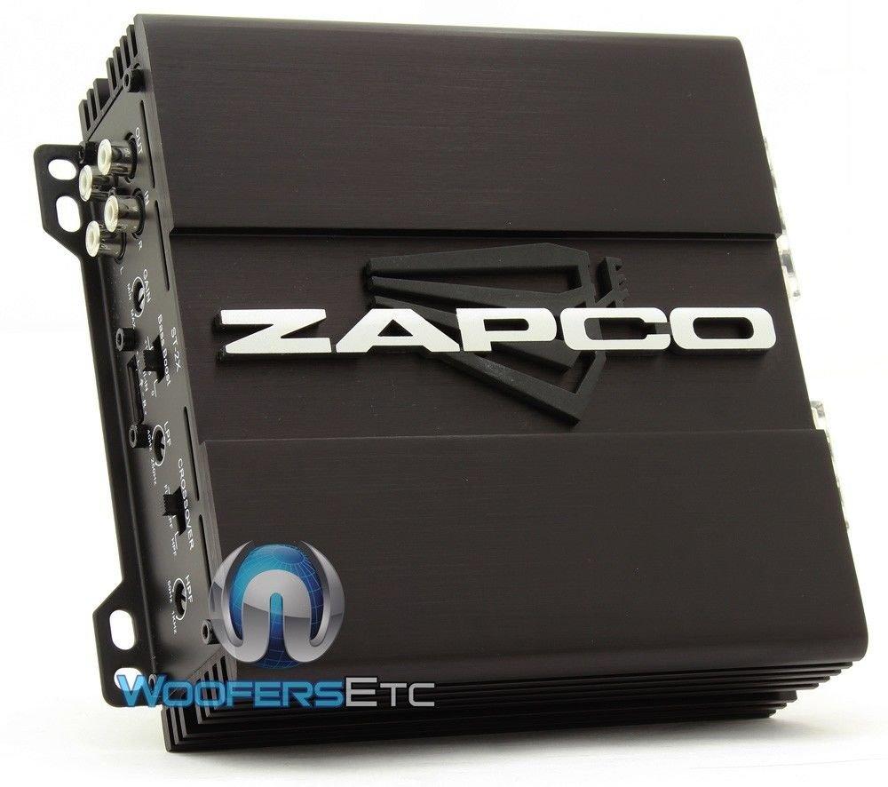Amazon.com: Zapco ST-2X 2-Channel 160W RMS Class A/B Studio X Series ...