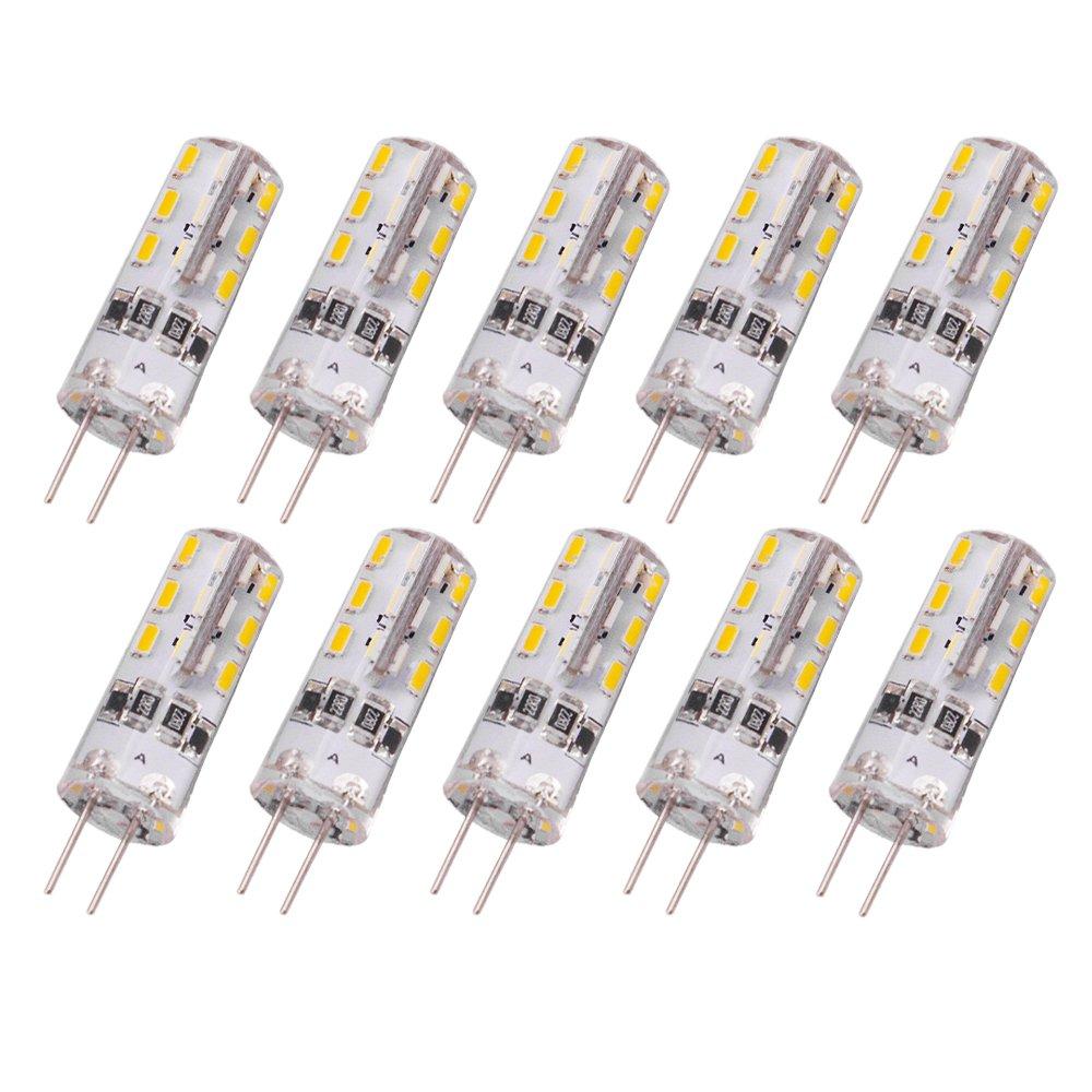 rayhoo 10pcs g4 base 24 led light bulb lamp 1 5 watt dc 12v warm white undimmabl ebay. Black Bedroom Furniture Sets. Home Design Ideas